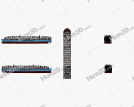 Maersk Triple E-class container ship Ship clipart