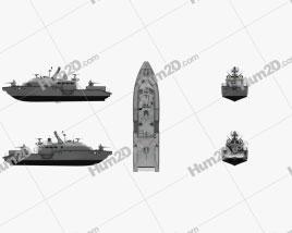 Mark VI patrol boat Ship clipart