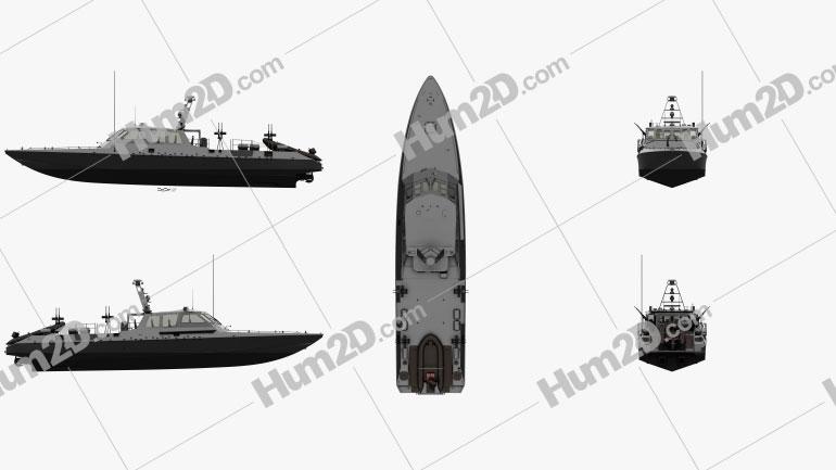 Mark V Special Operations Craft Ship clipart