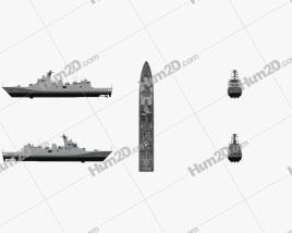 Martadinata-class frigate Ship clipart