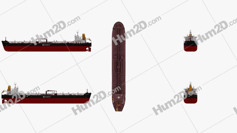 Oil Chemical Tanker BALTIC SUN II Ship clipart