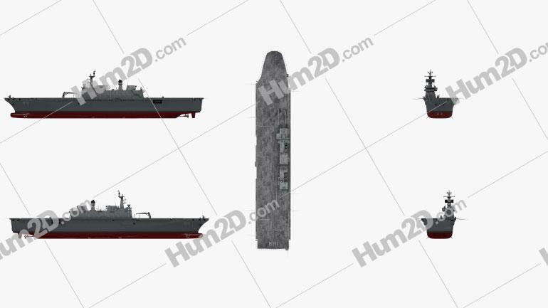 ROKS Dokdo Ship clipart