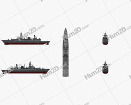 Sachsen class frigate Ship clipart