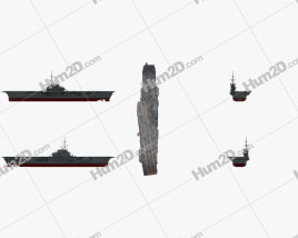 Sao Paulo aircraft carrier Ship clipart