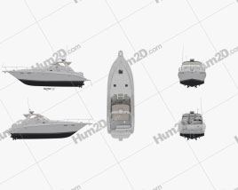Sea Ray 330 Sundancer Ship clipart