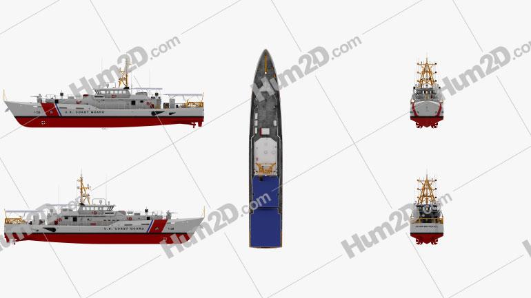 Sentinel-class cutter Ship clipart