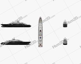 Serene yacht Ship clipart