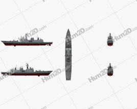 Shivalik-class frigate Clipart