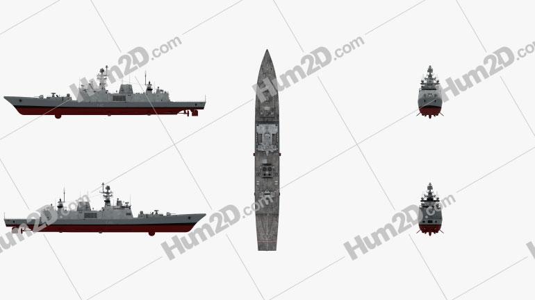 Shivalik-class frigate Ship clipart