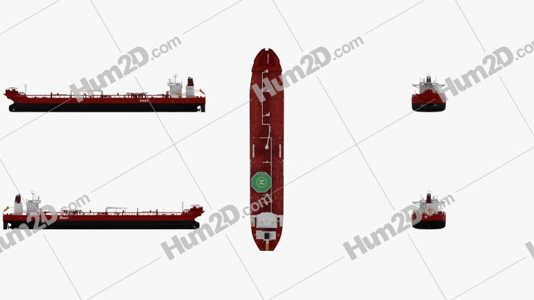 Shuttle Tanker Ingrid Knutsen Ship clipart