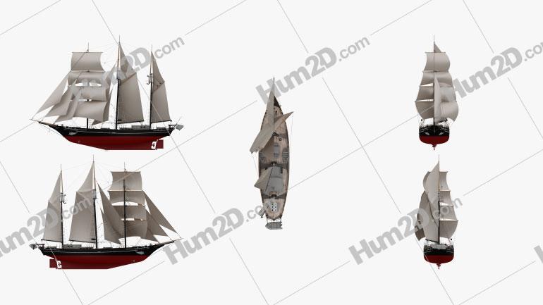 Spirit of New Zealand Schiffe clipart