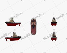 Tugboat Svitzer Stanford Ship clipart