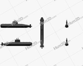 Type 209 Attack Submarine