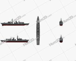 Type 23 frigate Schiffe clipart