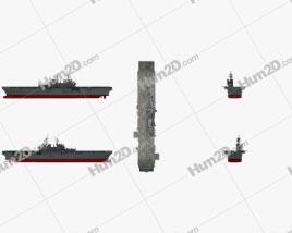 USS America (LHA-6) aircraft carrier Ship clipart