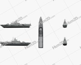 Visby-class Corvette Swedish Navy Ship clipart