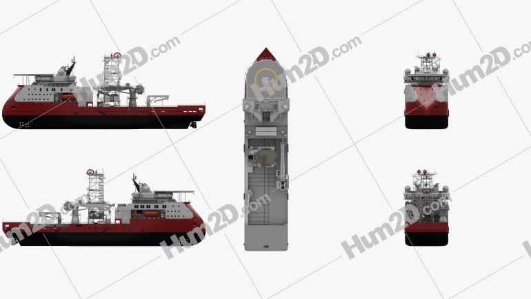 Well intervention Vessel SKANDI CONSTRUCTOR Ship clipart