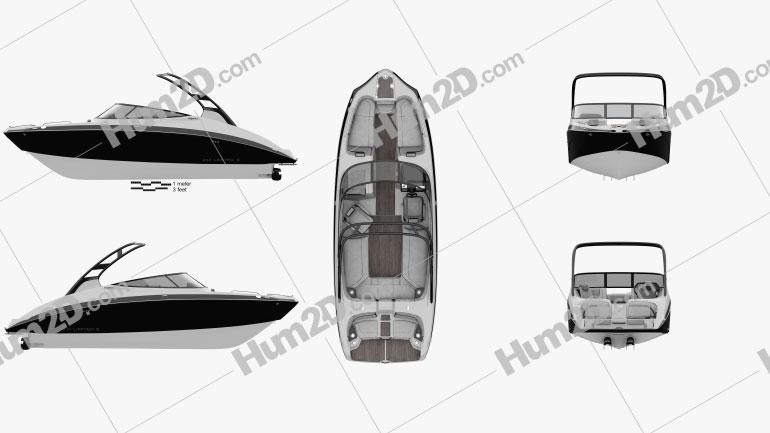 Yamaha 242 Limited S Ship clipart