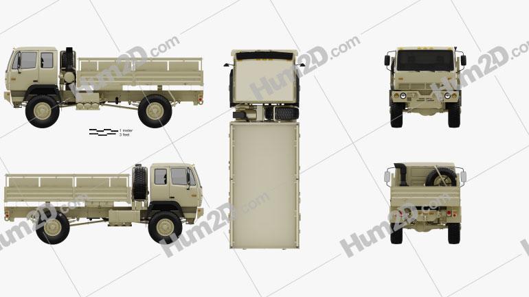 Stewart & Stevenson M1083 MTV Truck 2-axle 2019