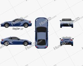 Subaru BRZ (ZC6) 2016