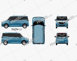 Subaru Justy G 2016 car clipart