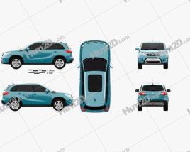 Suzuki Vitara (Escudo) 2015 car clipart