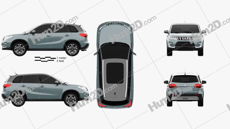 Suzuki Vitara Hybrid AllGrip 2020 Imagem Clipart