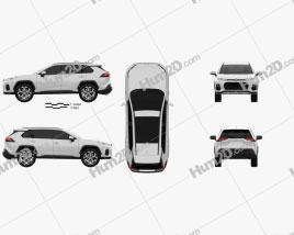 Suzuki Across 2020 Clipart