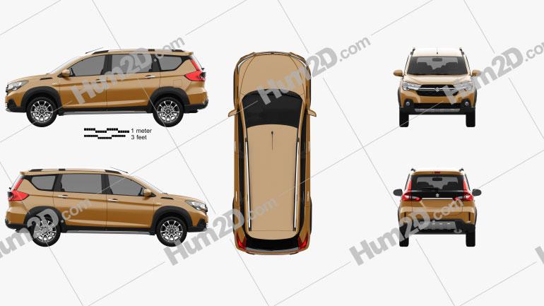 Suzuki XL7 2021 Imagem Clipart