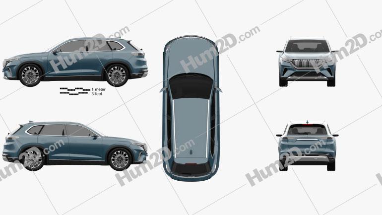 TOGG SUV 2019 Clipart Image