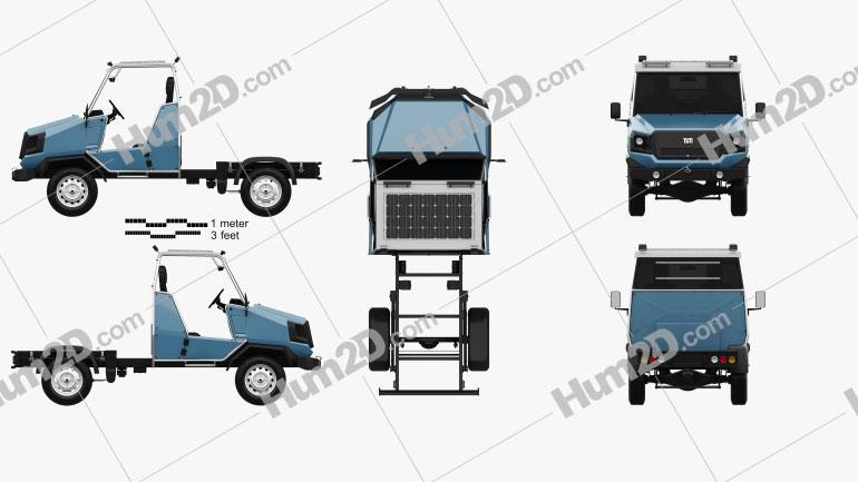 TUM aCar Prototype 2017 clipart