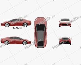TagAZ Aquila 2013 car clipart