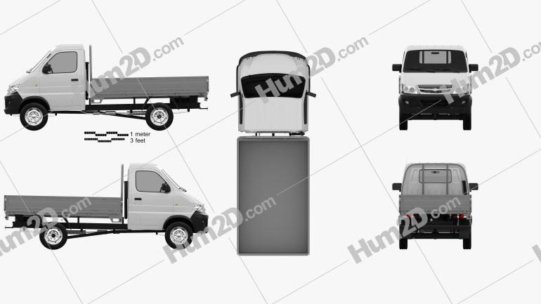 TagAZ Hardy pickup 2012 car clipart
