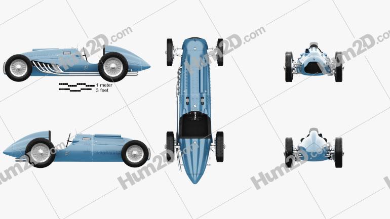 Talbot-Lago T26C 1948