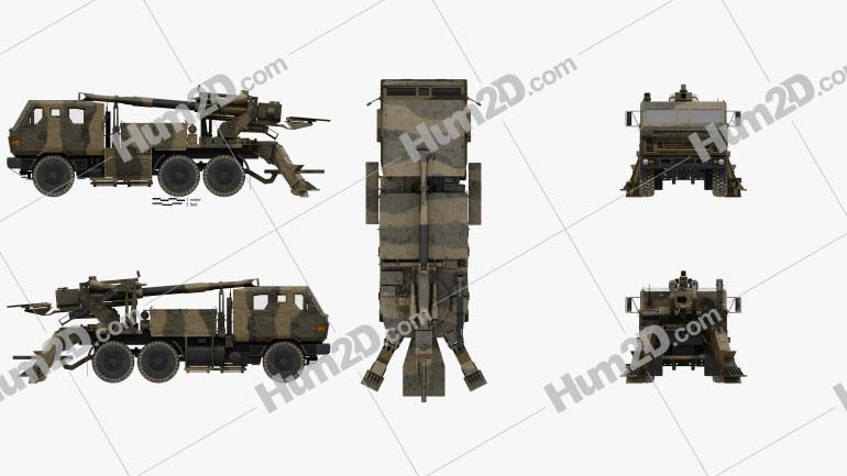 ATMOS 2000 Self-propelled Gun