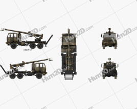 Brutus 155mm self-propelled howitzer
