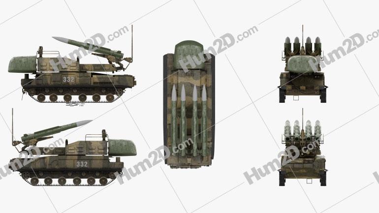 Buk M1 missile system