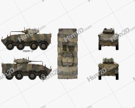 CM-32 Armoured Vehicle