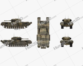 Churchill Tank Mk IV
