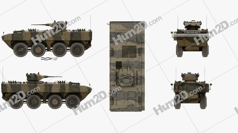 DefTech AV8 Clipart Image