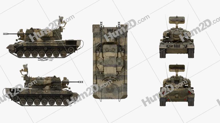 Flakpanzer Gepard 1A2