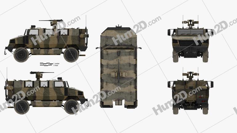 Golan MRAP Armored Vehicle