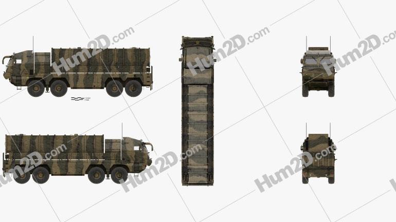 Hyunmoo-2 Short-Range Ballistic Missile