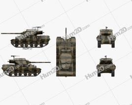 M36 Jackson Tank Destroyer