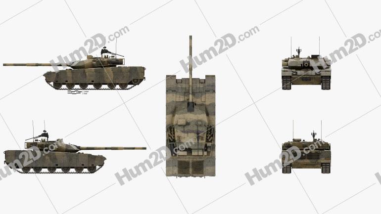 VT-4 (MBT-3000) Tank