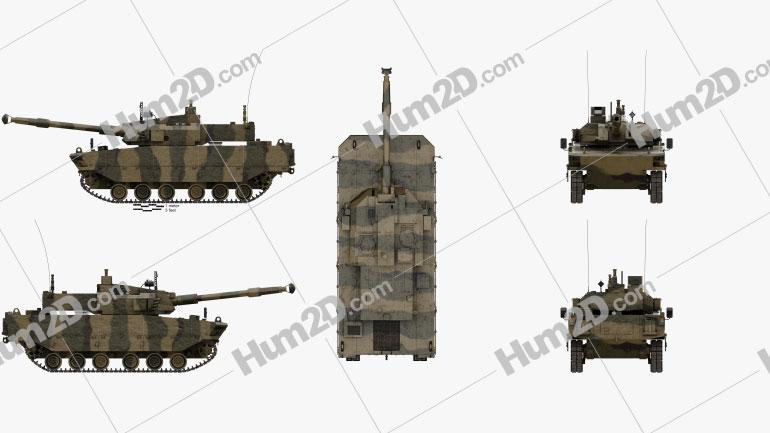 Kaplan MMWT Tank Clipart Bild