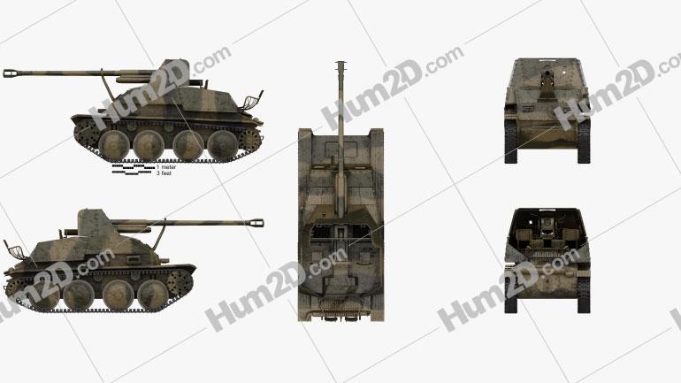 Marder III Tank Destroyer