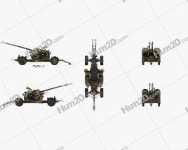 Oerlikon GDF 35 mm Twin Cannon