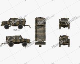 Oshkosh Alpha MRAP car clipart