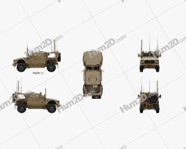 Oshkosh M-ATV car clipart